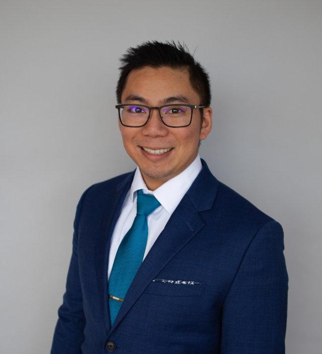 Brandon Chang, Headshot facing left